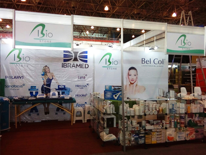 Estande Bio Store na Expo Beauty